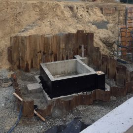 Foundation and Excavation Support, Medford MA